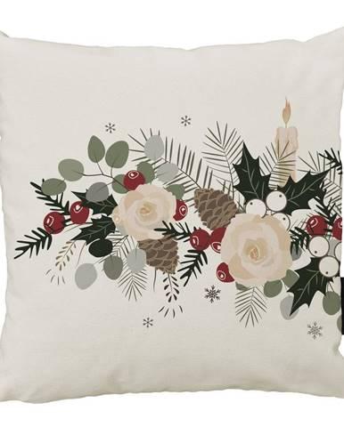Vianočný vankúš s bavlnenou obliečkou Butter Kings Fir, 45 x 45 cm