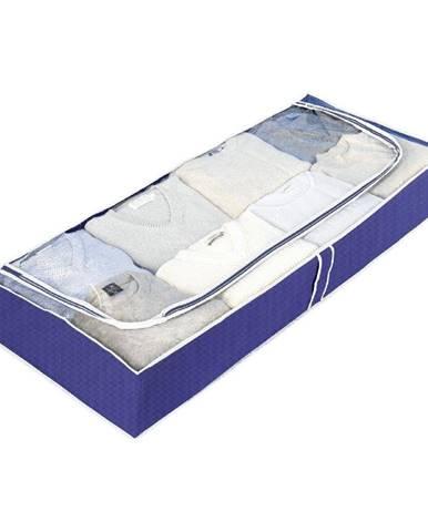 Modrý úložný box Wenko Ocean, dĺžka103cm