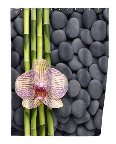 Sprchový záves Wenko Zen, 180×200 cm