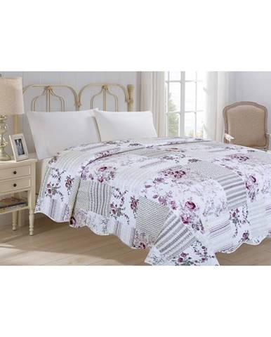 Prikrývka cez posteľ JAHU Collection KYTKA, 220×240 cm