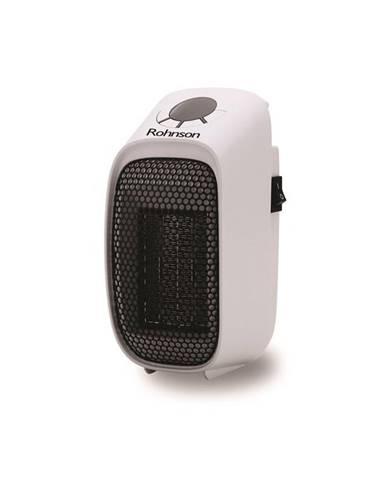 Teplovzdušný ventilátor Rohnson R-8067 čierny/biely