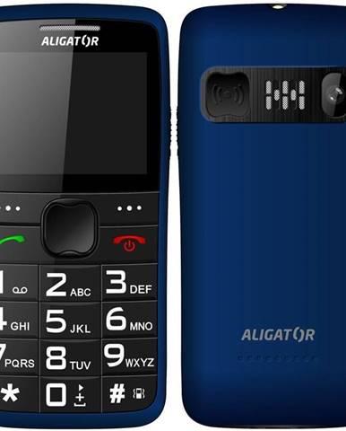 Mobilný telefón Aligator A675 Senior modrý