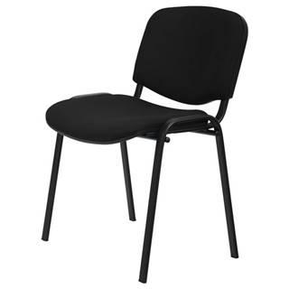 Konferenčná stolička ISO čierna