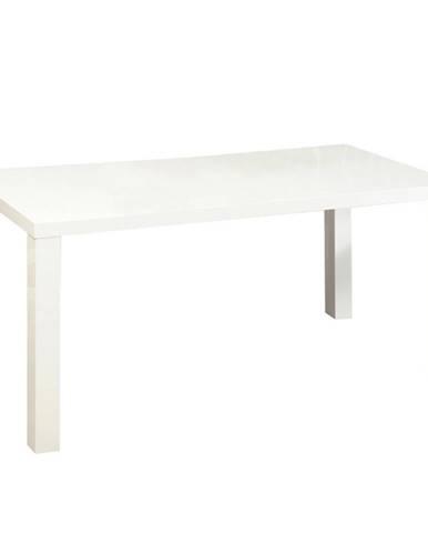 Jedálenský stôl biela vysoký lesk HG ASPER NEW TYP 4