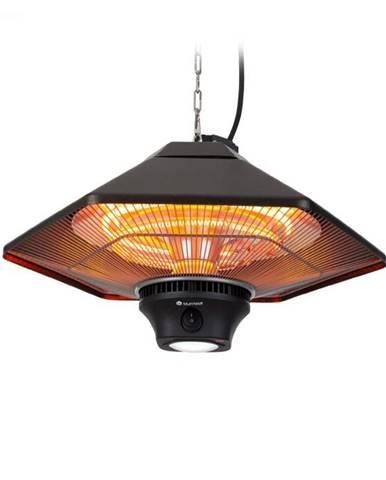 Blumfeldt Heat Hexa, infračervený ohrievač, 800/1200/2000 W, halogén, IP34, LED, bronzový