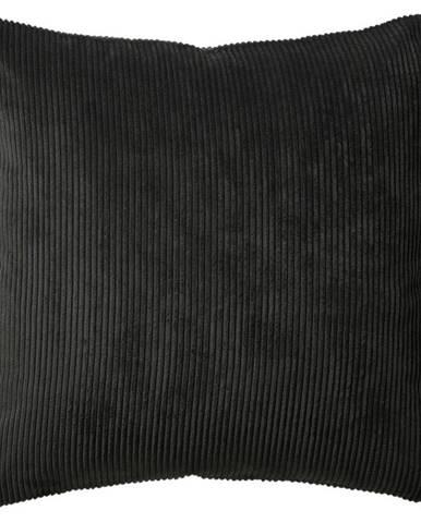 Poťah Na Vankúš Mary Cord, 40/40 Cm, Tm.sivá