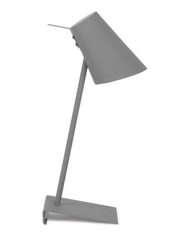 Sivá stolová lampa Citylights Cardiff