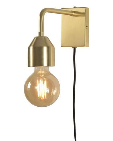 Nástenné svietidlo v zlatej farbe Citylights Madrid, výška 17 cm