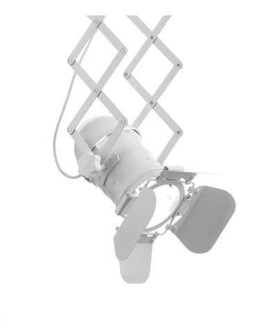 Závesné svietidlo s pantografovým systémom Tomasucci E×tension White