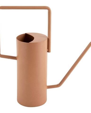Karamelovohnedá kovová kanvička PT LIVING Grace, výška 29 cm