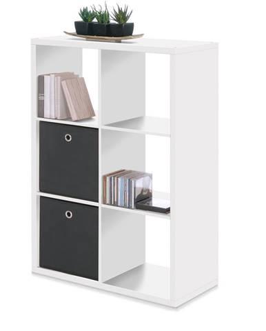 Knižnica MAX 6 biela
