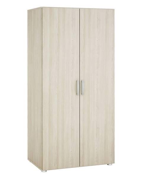 IDEA Nábytok Skriňa 2-dverová 480506 dub