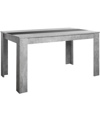 Jedálenský stôl NIKOLAS betón