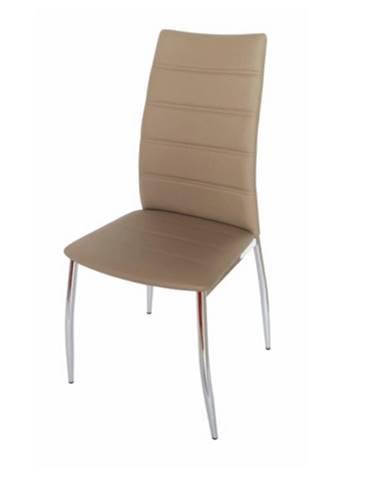 Tempo Kondela Jedálenská stolička DELA / hnedá