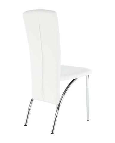 Tempo Kondela Jedálenská stolička FINA / biela