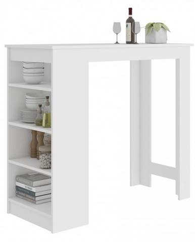 ArtAko Barový stolík Clips 115 cm biela