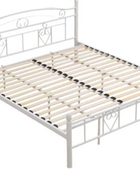 Tempo Kondela Tempo Kondela Kovová posteľ Brita 180 x 200