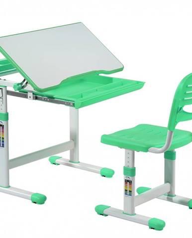 Fundesk Rastúci stôl CANTARE + stolička