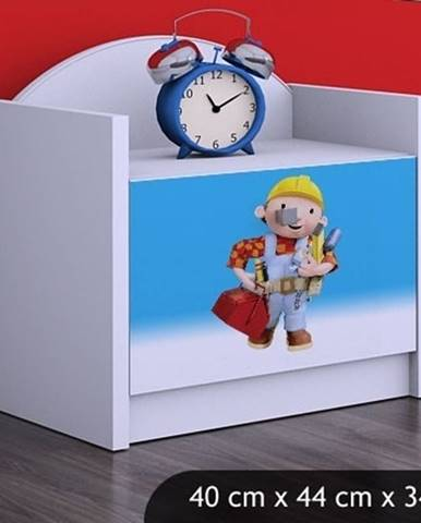Happy Babies Nočný stolík HAPPY/ 24 Bob staviteľ SZN02