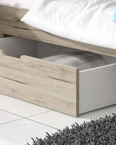 ArtElb Manželská posteľ so zásuvkou DELTA | san remo