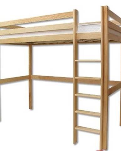 Poschodová posteľ - masív LK135 | borovica
