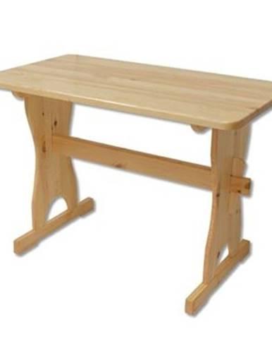 Drewmax Stôl - masív ST103   110cm borovica