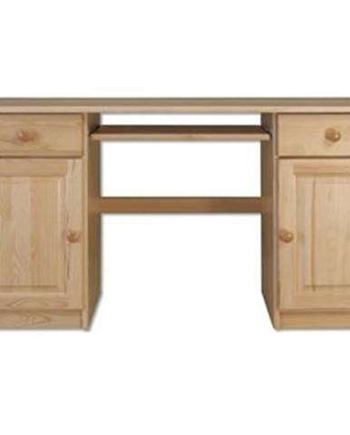 Písací stôl - masív BR101   borovica