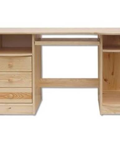 Písací stôl - masív BR102   borovica