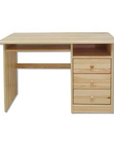 Písací stôl - masív BR106 | borovica