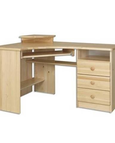 Písací stôl - masív BR107   borovica