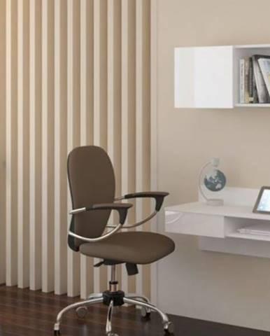 WIP PC stolík visiaci Uno biely / biely lesk Uno