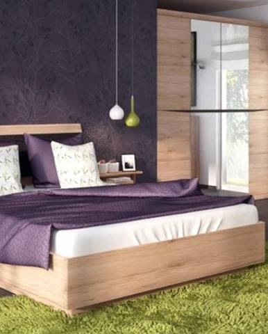 ArtExt Manželská posteľ SUMMER TYP 91 / 140x200