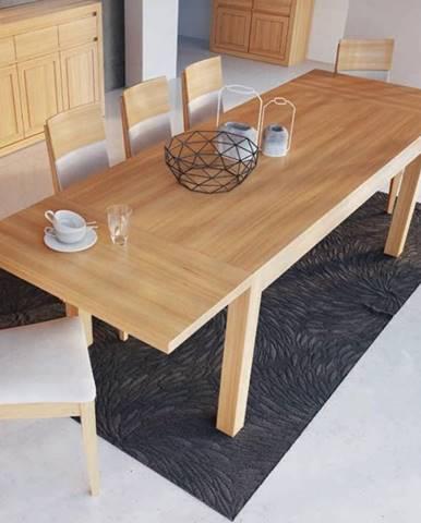 Drewmax Jedálenský stôl - masív ST302 / S90 - hrúbka 4cm / dub
