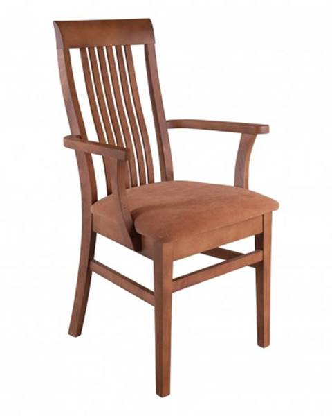Drewmax Drewmax Jedálenská stolička - masív KT178 | buk / látka