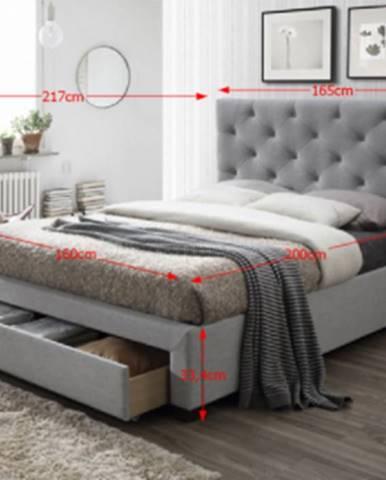 Tempo Kondela Manželská posteľ Santola