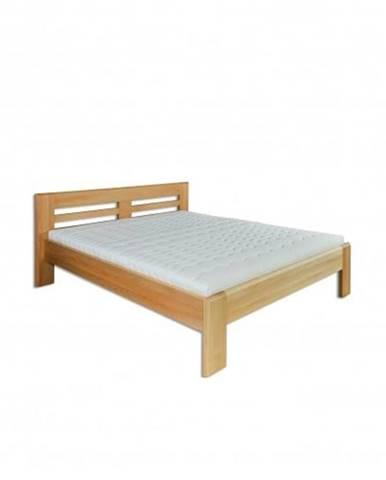 Manželská posteľ - masív LK111   180cm buk