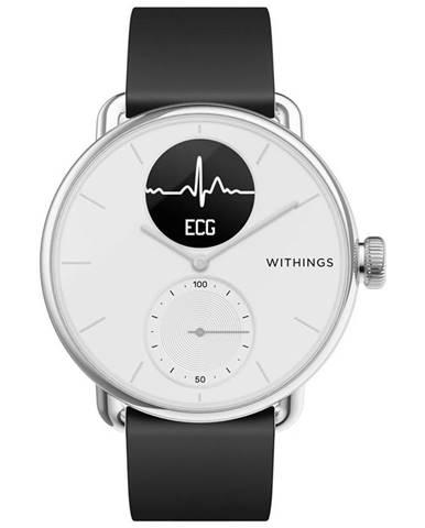 Inteligentné hodinky Withings Scanwatch 38 mm biele