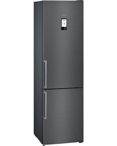 Kombinácia chladničky s mrazničkou Siemens iQ500 Kg39nhxep čierna