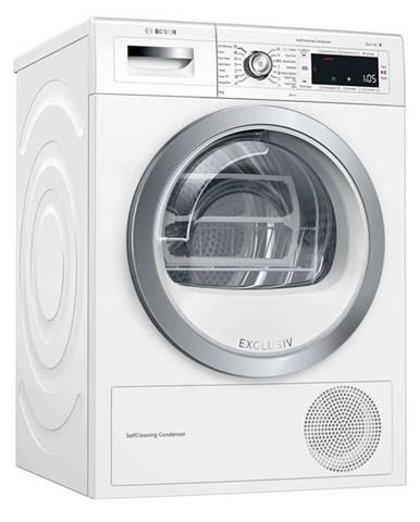 Sušička bielizne Bosch Serie   8 Wtw85590by biela