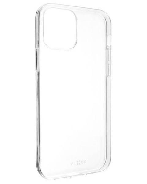 FIXED Kryt na mobil Fixed Skin na Apple iPhone 12/12 Pro priehľadný