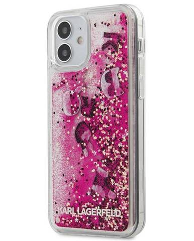 Kryt na mobil Karl Lagerfeld Liquid Glitter Charms na Apple iPhone