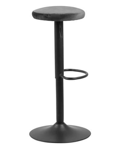 Barová stolička so sivým polstrovaním Actona Finch