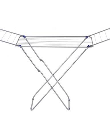 Sušiak na bielizeň strieborná/modrá VARDEN