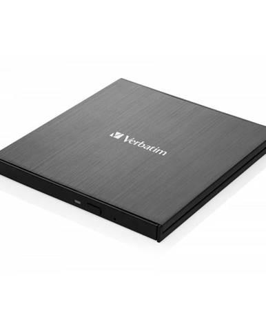 Externá DVD napaľovačka Verbatim CD/DVD Slimline USB-C + Nero