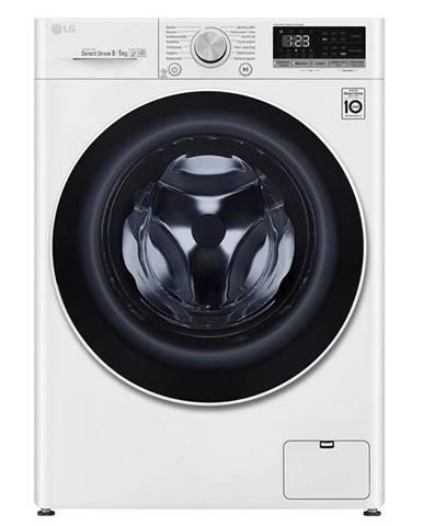 Práčka so sušičkou LG F4dn508n0 biela