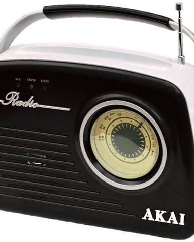 Rádioprijímač Akai APR-11 čierny