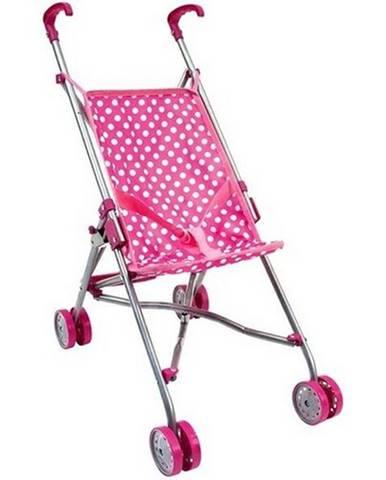 Bino Golfový kočík pre bábiky, ružová