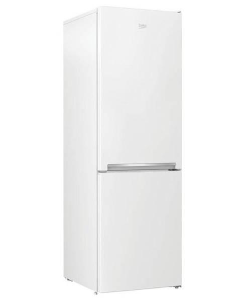 Beko Kombinácia chladničky s mrazničkou Beko Rcna366k40wn biela