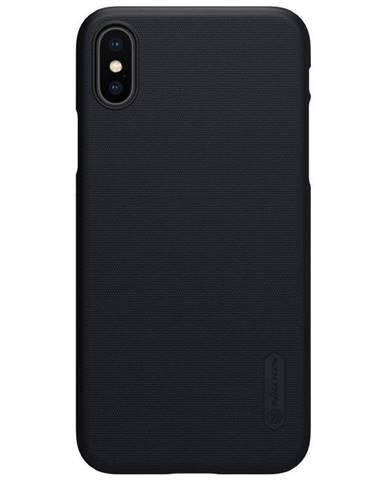 Kryt na mobil Nillkin Super Frosted na Apple iPhone X/Xs čierny