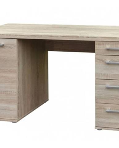 Písací stôl Walter, dub sonoma%